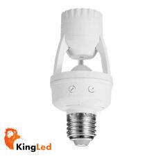 Rilevatore Sensore di Presenza PIR per Lampade E27 220V Max 60W