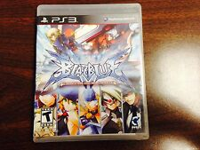 BlazBlue : Continuum Shift  (Playstation 3)  RARE  !!!  Complete  !!!