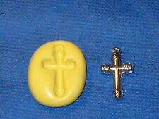 Cross Charm Silicone Push Mold #692 For Jewerly Resin Craft Candy