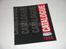 Brochure ~Mirrorsoft 1988 Catalogue~ BBC / Commodore / IBM / MSX / Spectrum etc.