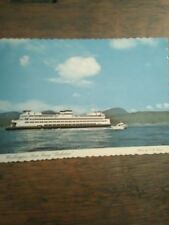 WASHINGTON STATE FERRIES POST CARD KALEETAN SAN JUAN ISLAN