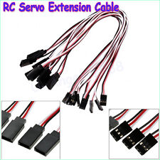 10pcs 300mm RC Servo Extension Cord Cable Wire Lead for RC Car Helicopter