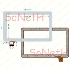 "Vetro Touch screen Digitizer 10,1"" Mediacom SmartPad S2 1S2B3G M-MP1S2B3G Bianco"
