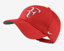 New Nike RF Roger Federer Hat Cap  Tennis  Dri Fit CRIMSON 371202 -696