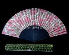 A STAR !! Vintage beautiful hand fan #22 - whole collection goes!
