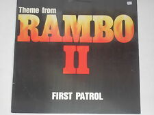 "THEME FROM RAMBO II -First Patrol- 12""  Soundtrack  OST"