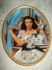 """""""Jewel of the South"""" Gone With The Wind Cameo Memories Oval Plate Premier Issue"""
