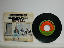 """Creedence Clearwater Revival - Sweet Hitch-Hiker, Fantasy 665, 1971, 45 RPM, 7"""""""