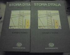 ANNALI 3 STORIA D' ITALIA EINAUDI GRANDI OPERE - SCIENZA E TECNICA