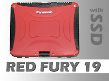 Red Fury Industrial Panasonic Toughbook 19 Military Rugged Laptop Tablet Touch