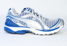 Puma Cell Vectana Blue & Silver Running Shoes Sneakers Mens 9 NEW
