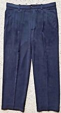 TOMMY Bahama SILK Blend PANTS 34 29 Mens SIZE Bamboo RAYON Pleated CUFFED Sz MAN