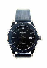 Parnis automatic mechanical men's black dress watch. UK Seller, Expr deliv!