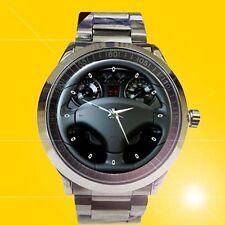 Peugeot 308 RCZ Concept Steering Wheel Design sport metal watch
