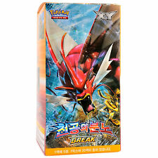 Pokémon TCG XY9 BREAKpoint EX Korean Booster Packs 150 Cards Factory Sealed Box