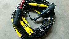 Sercel/Zhaofeng Geo Exploration Land Seismic Geophone Cable 5m/8ch  61pin bendix