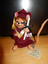 Annalee Doll Graduation Mouse w/ tags