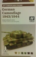 Vallejo AFV Camouflage colors, German Camouflage 1943/44