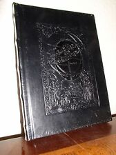 Penman Leather Collection 224 Page Bonded Blk Leather Journal-Ribbon Marker-New