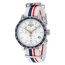 Tissot Quickster Silver Dial Chronograph Mens Watch T0954171703709