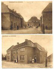 NEDERLAND 1919/1920   2 x AK  - EINDHOVEN  - NAAR NED INDIE   F/VF