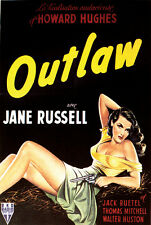The Outlaw (1943) Jane Russell Howard Hughes cult western movie # 2