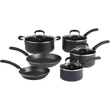 Professional 10 Piece Cookware Set, Induction Cooktop Anodized Aluminum Pans Pot