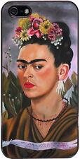 Cover per iPhone 5 e 5S con stampa Autoritratto di Frida Kahlo