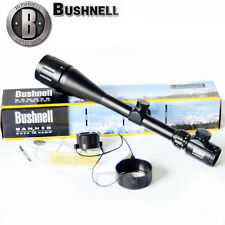 Bushnell 6-24x50AO Multi Red/Green Mil-dot Sight Rifle Scope Adjustable Conquest