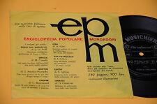 """7"""" 45 FLEX DISC (NO LP ) PAOLA ORLANDI VIVO PERCHE TI AMO OTTIME CONDIZIONIO"""