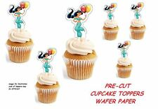 jasmin Aladdin  X24 edible stand up cup cake toppers wafer paper *pre-cut*