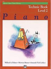 Alfred's Basic Piano Library Technic Book: Level 2