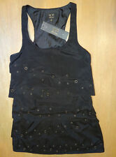 ICE FASHION Layered Little Black Dress, Size XS, New with tags