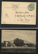 Cape of Good Hope, Gerorge  1908 post card local  use     KL1220