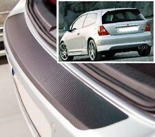 Honda Civic Hatchback MK7 - Carbon Style rear Bumper Protector