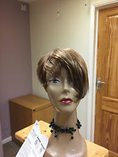 Real Ladys 100% Human Hair Wigs Ladies Wig Mixed Browm Auburn  Colour 4/27/30