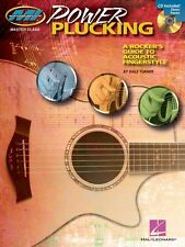 Power Plucking Rockers Guide to Acoustic Fingerstyle Guitar Learn Music Book CD
