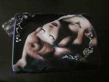 Disney Soho Sleeping Beauty Good vs Evil Clutch Makeup Cosmetics Bag Aurora New