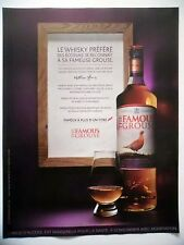 PUBLICITE-ADVERTISING :  THE FAMOUS GROUSE  2016 Whisky,Alcool