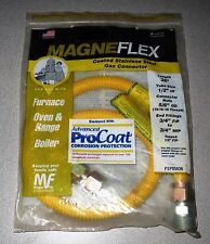 """Magneflex Coated Stainless Steel Gas Connector 36"""" PSP85636 1/2""""ID - New!"""