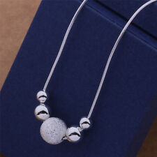 New charm nice Silver Plated fashion cute women Beads classic Necklace AN540