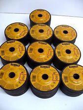 "100 New DEWALT 4-1/2"" x 1/4"" x 7/8"" METAL GRINDING WHEELS - DW4541 Free Ship"