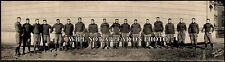 1908 Yale Football Team Photo Vintage Panoramic Photograph Panorama