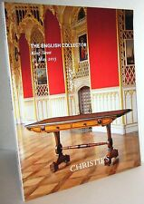 Christie's The English Collector King Street 21 May 2015 Action catalog book