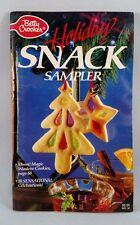1988 BETTY CROCKER Cookbook BOOKLET Recipes HOLIDAY SNACK SAMPLER 95 pgs