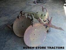 IH Farmall 1 Point Hitch DOUBLE DISC TURNING PLOW ~ 140 130 Super A 100