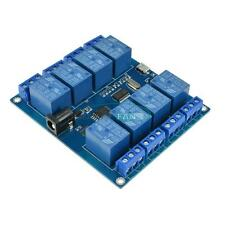 8 channel MICRO USB RELAY MODULE Upper Computer 5V-10A ICSE014A