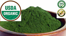 Pure Organic Wheatgrass JUICE Powder ~ Grown in the USA - No fillers ~ 8 oz Bag