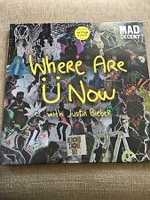 "DIPLO SKRILLEX JUSTIN BIEBER WHERE ARE YO 12"" YELLOW VINYL RECORD STORE DAY 2016"