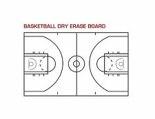 "Basketball Dry Erase Boards 24"" x 36"""